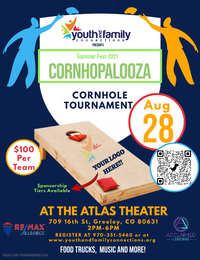 cornhole event youth and family connections